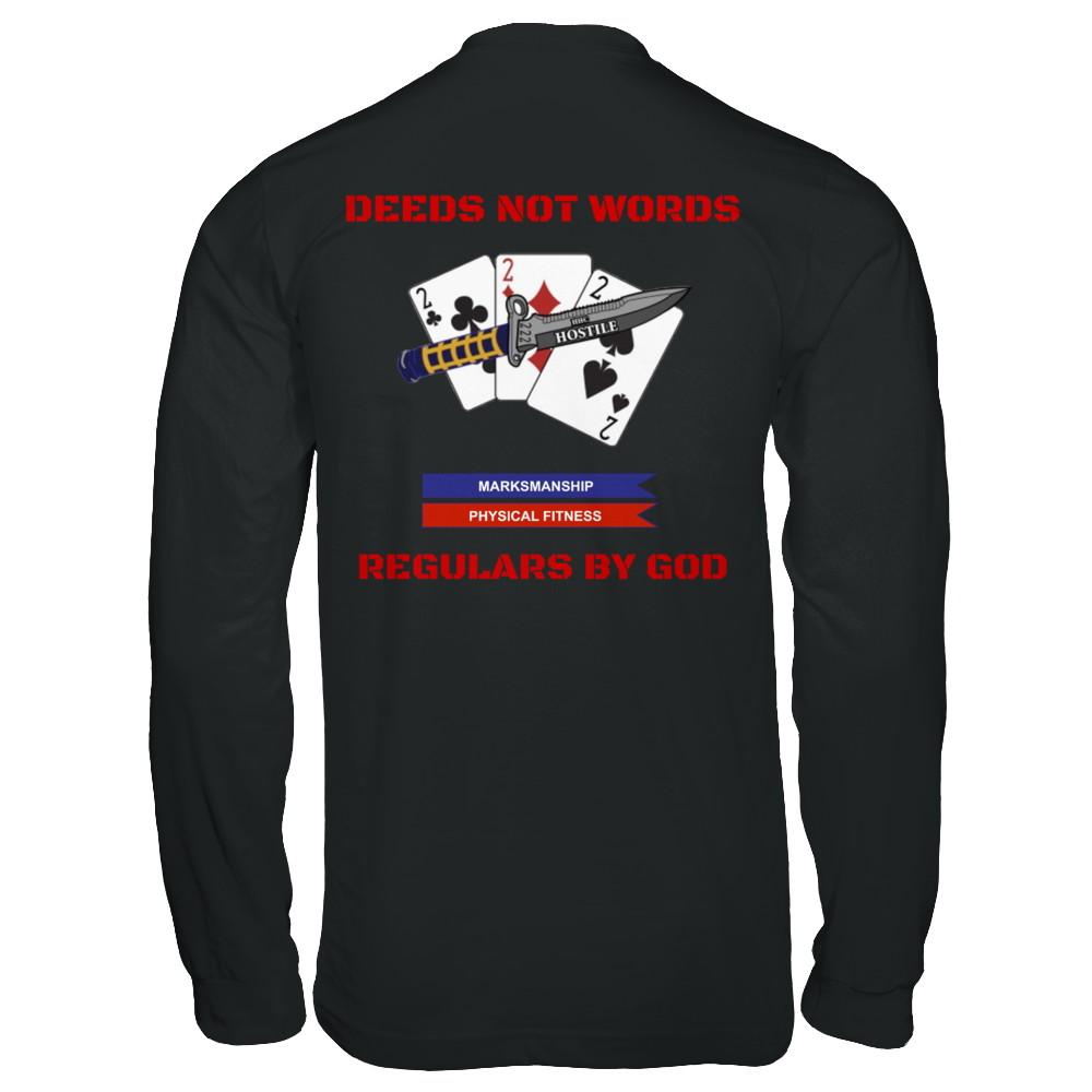 Authorized Long Sleeve PT Shirt (Black)
