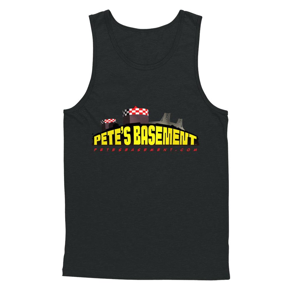 The Official Pete's Basement Logo Tank!