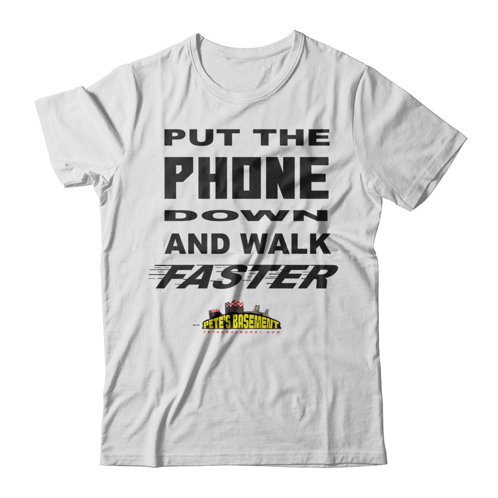 Put The Phone DOWN And Walk FASTER!