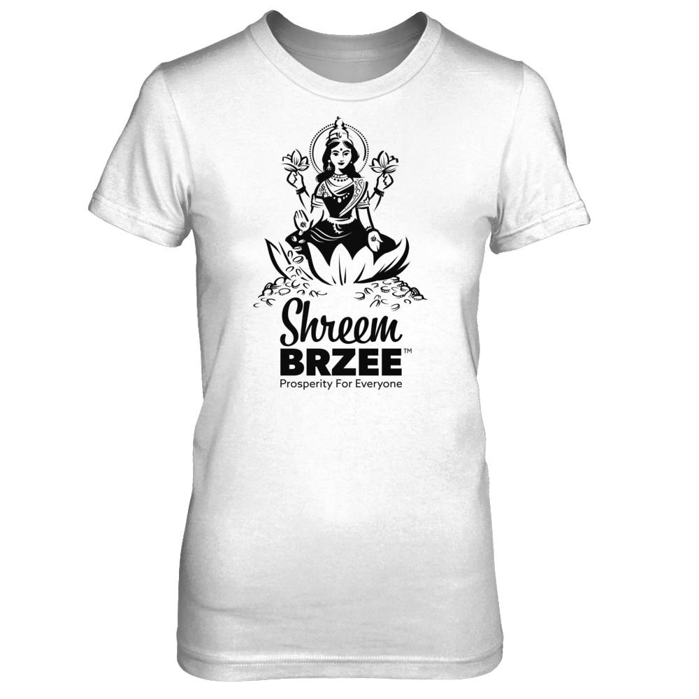 Shreem Brzee Fitted Tee - Black Logo