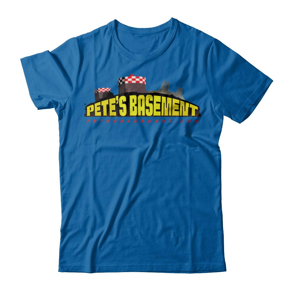 The Official Pete's Basement Logo Tee!