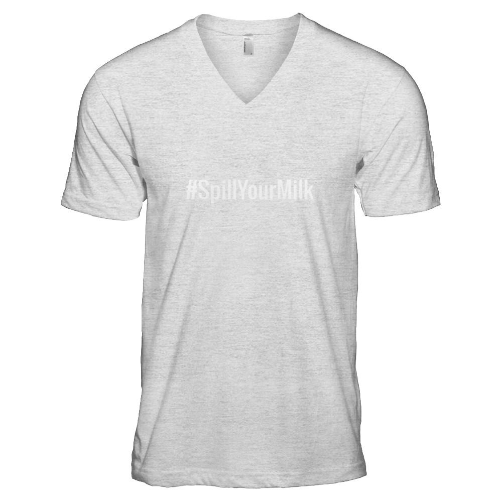 #SpillYourMilk T-shirt (Adult)