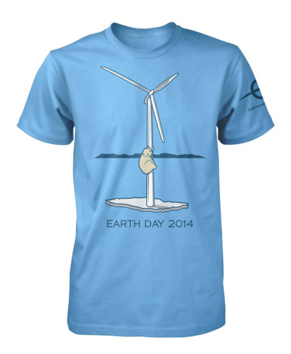 Official Earth Day 2014 T-Shirt