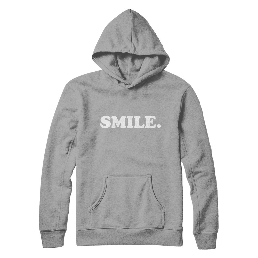 SMILE Heavyweight Hoodie (Colours Available)