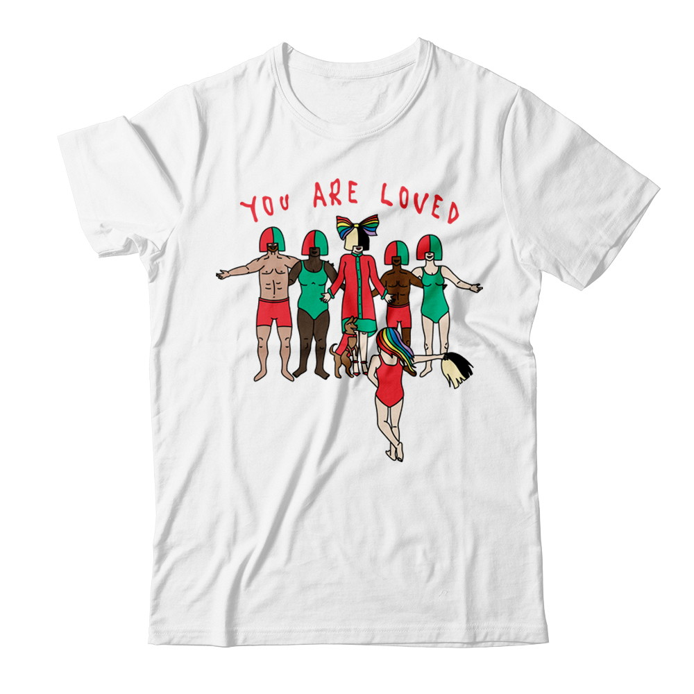 "Sia x It Gets Better ""You Are Loved"" Tee"