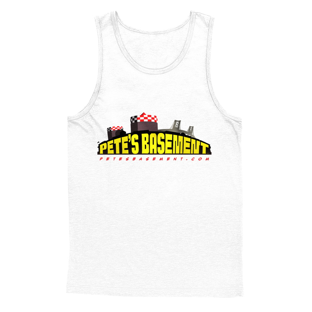 The Official Pete's Basement Logo Tank!