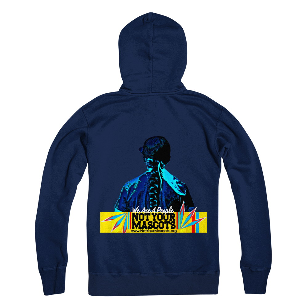 Not Your Mascots Pull Over Hoodie
