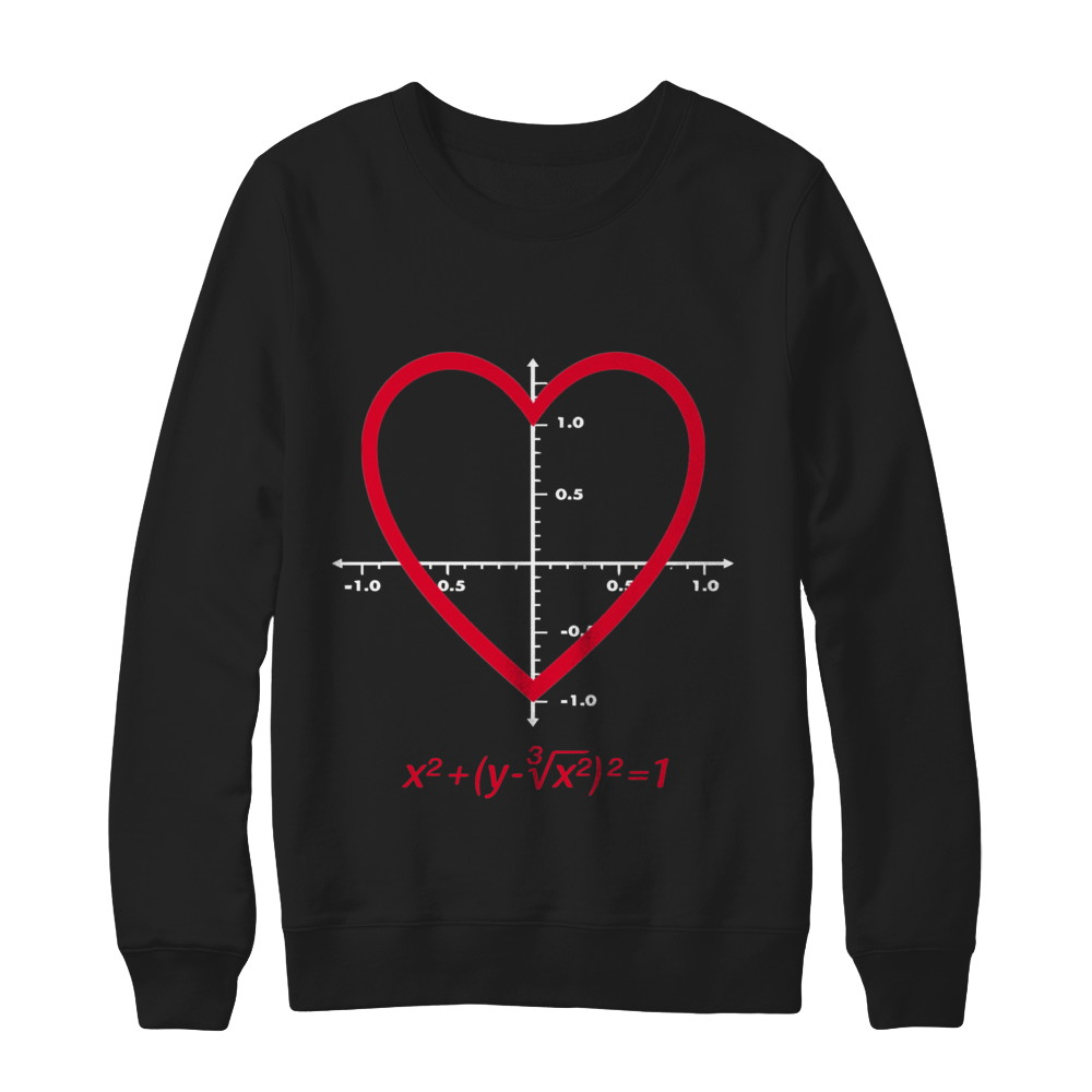 Love Heart Equation Shirt For Valentines Day