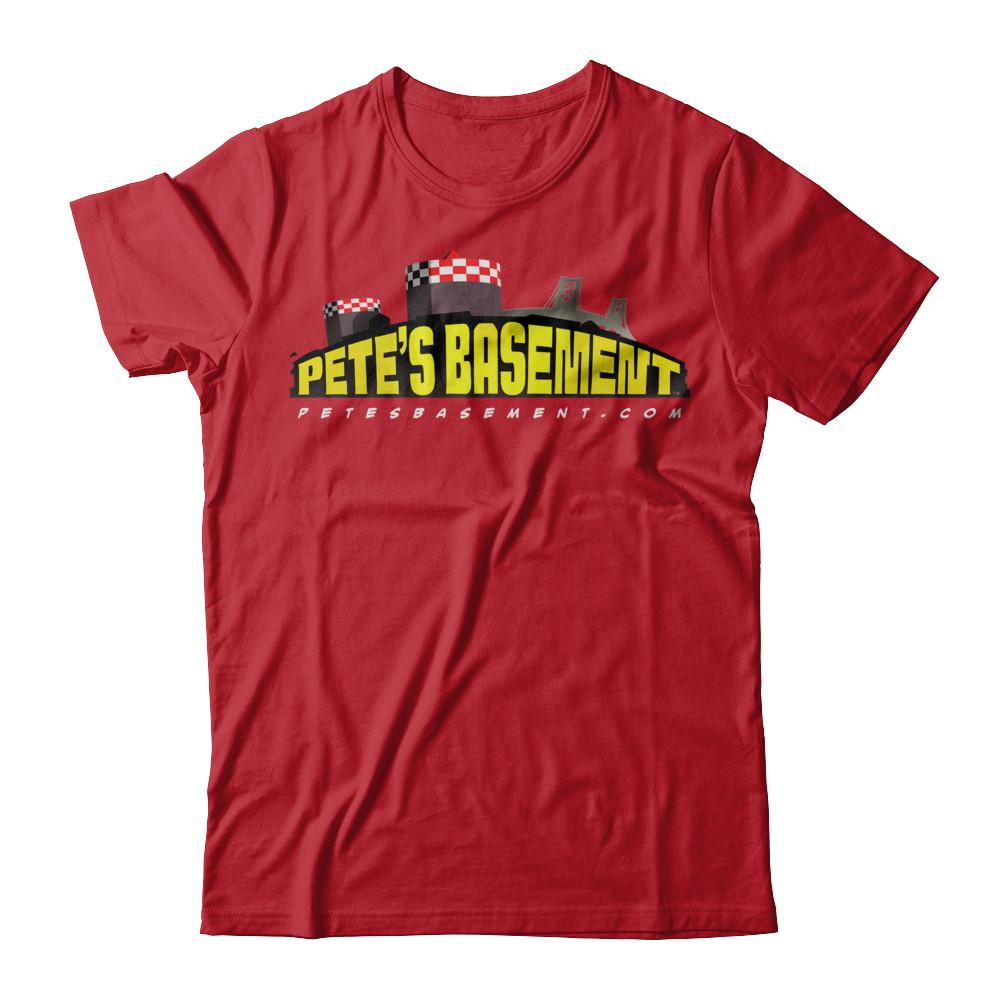 The Official Pete's Basement Logo Tee! Lights!