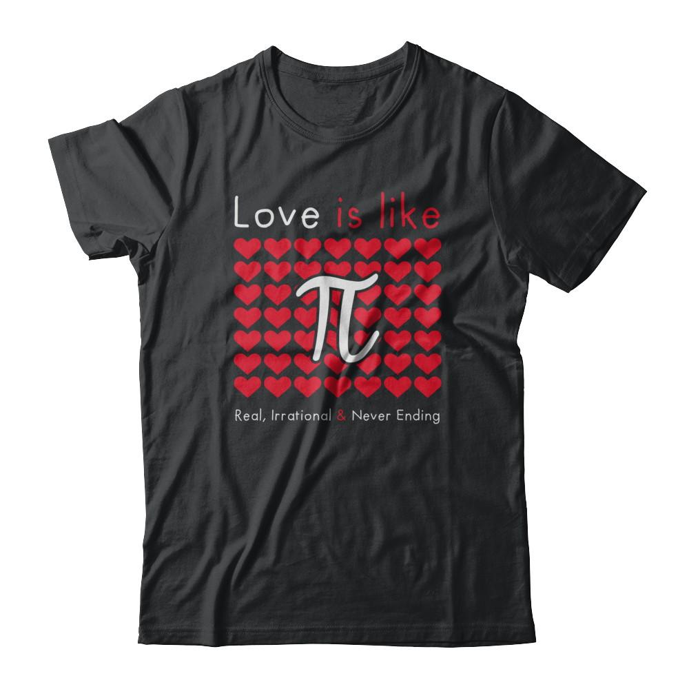 Love is like Pi
