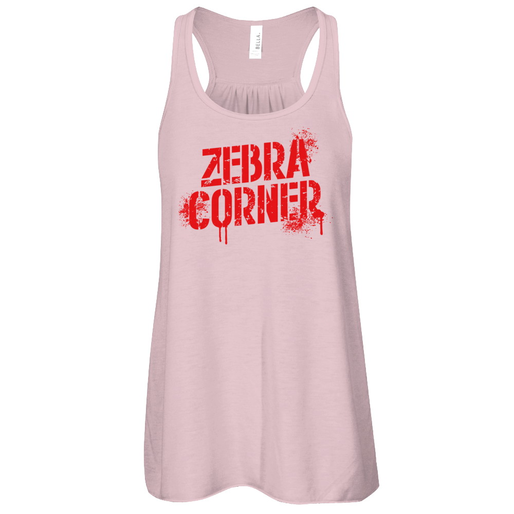 Zebra Corner Female Tank Top