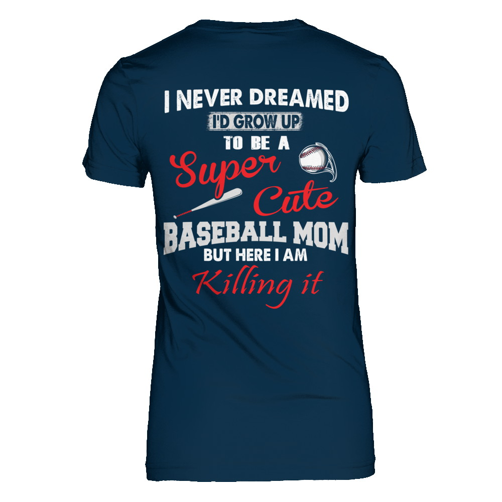SUPER CUTE BASEBALL MOM