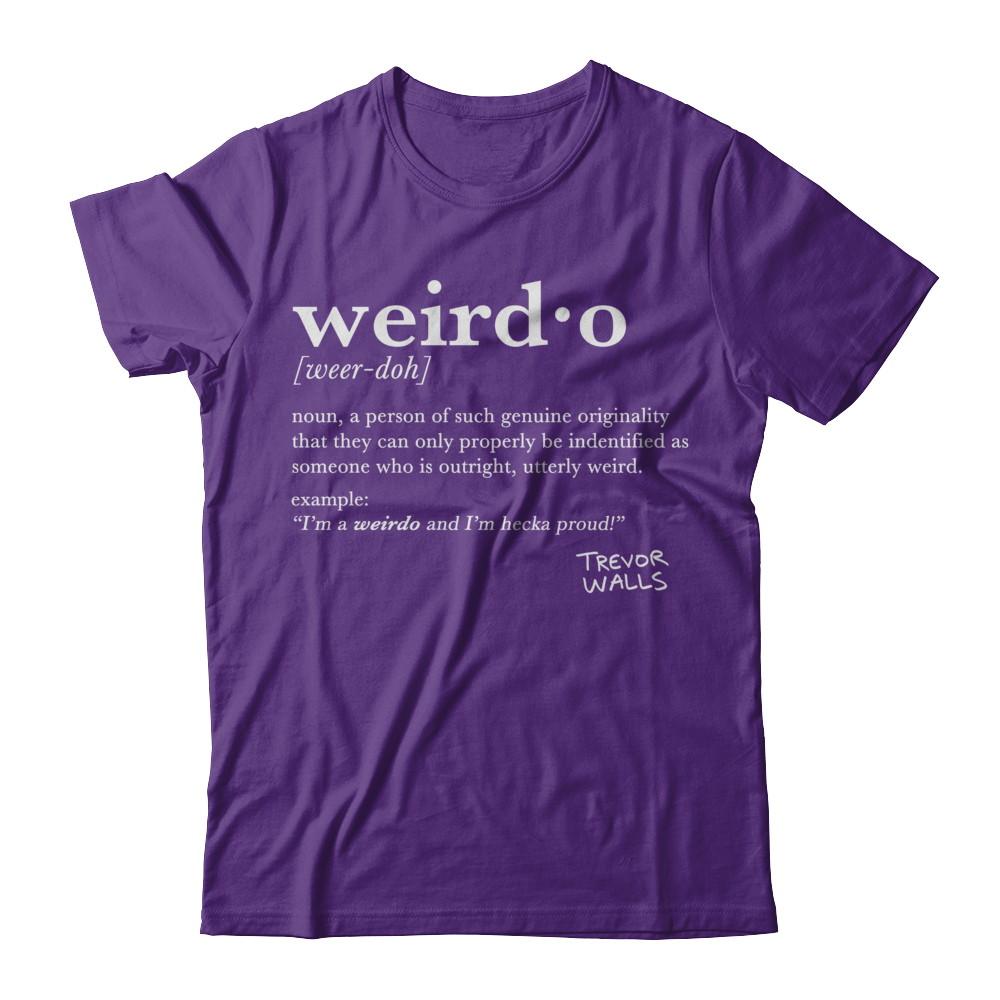 Weirdo Definition (White Text)