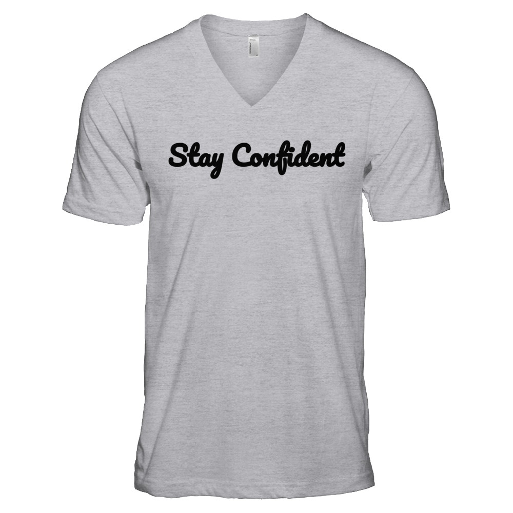 Stay Confident Original Light V-Neck