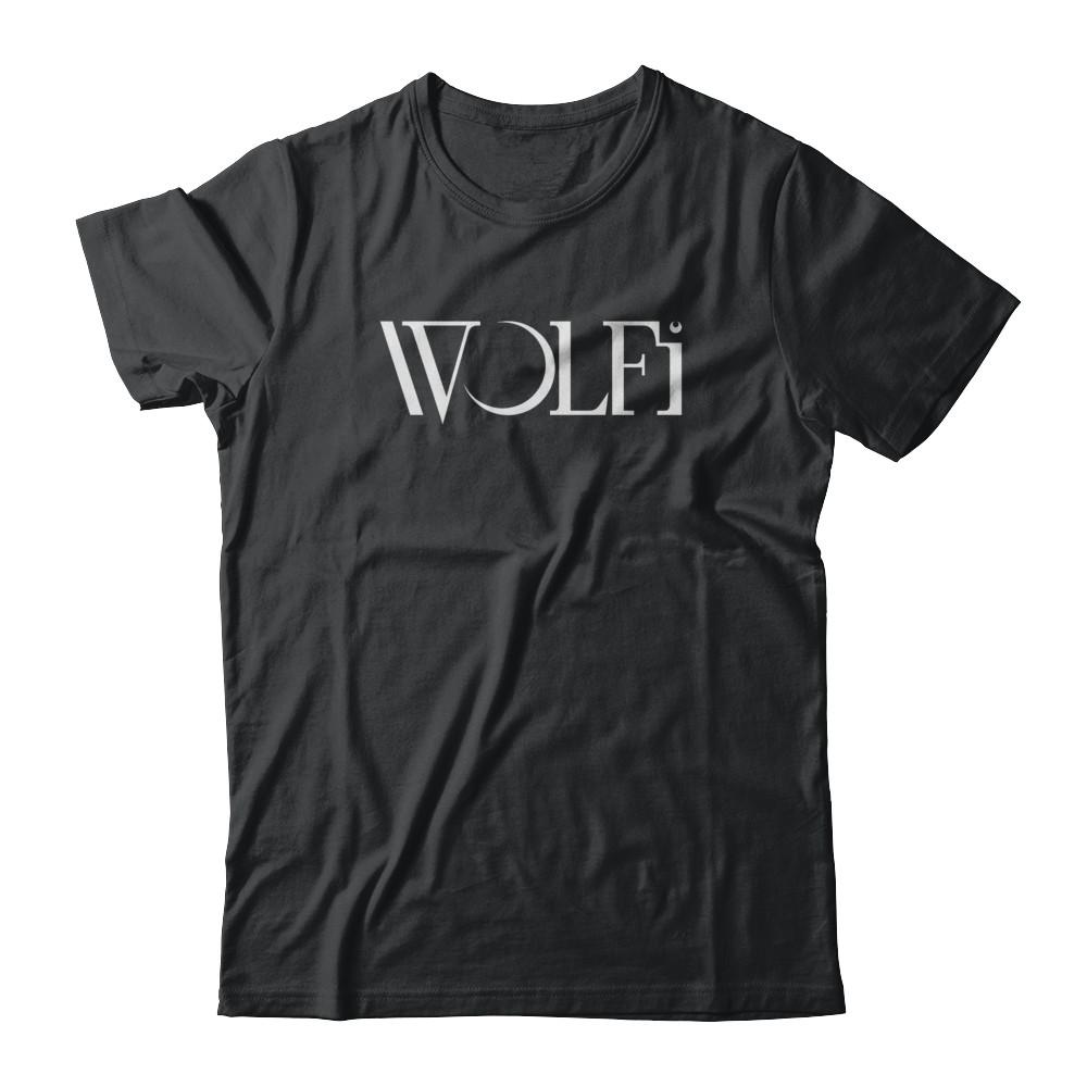 wolfi black tee