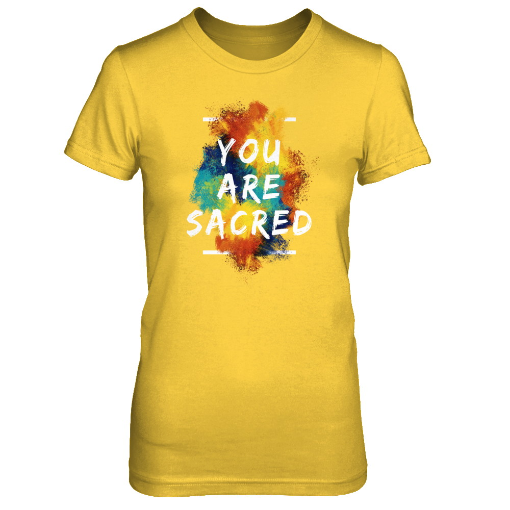 YOU ARE SACRED - WOMEN'S TEE