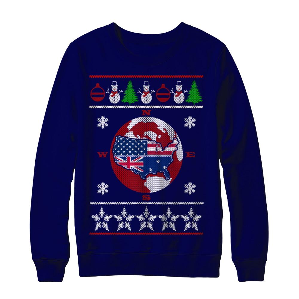 Ugly Christmas Sweater - AUSTRALIA - USA