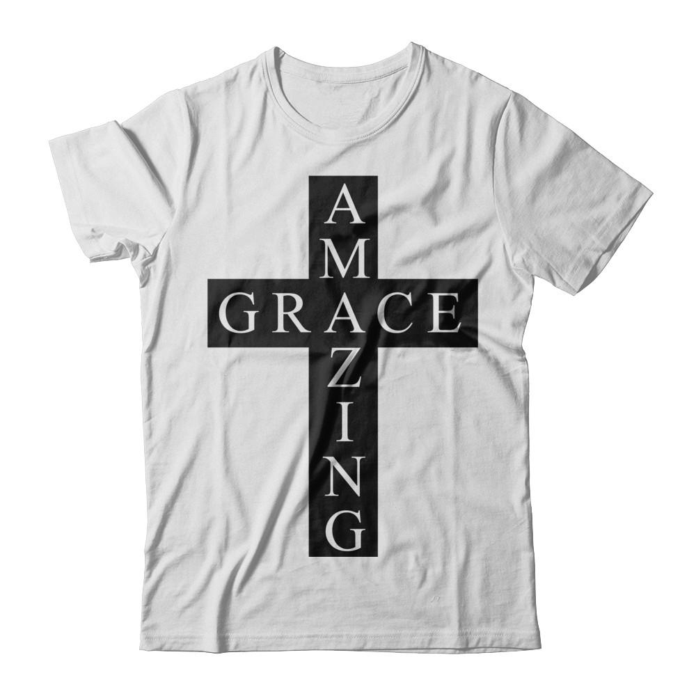 Amazing Grace Cross Tee