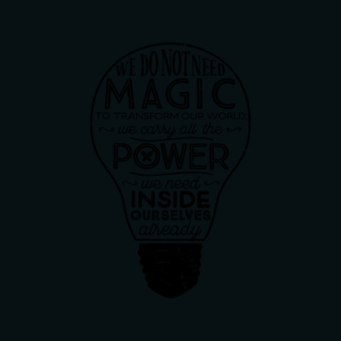 Official Lumos 'Be the Light' T-shirt