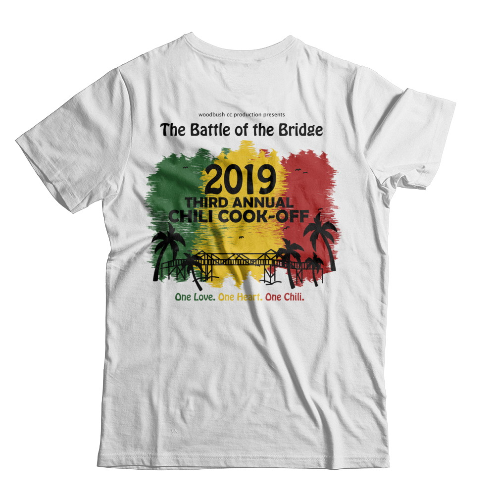 2019 Battle of the Bridge Official Tee - White