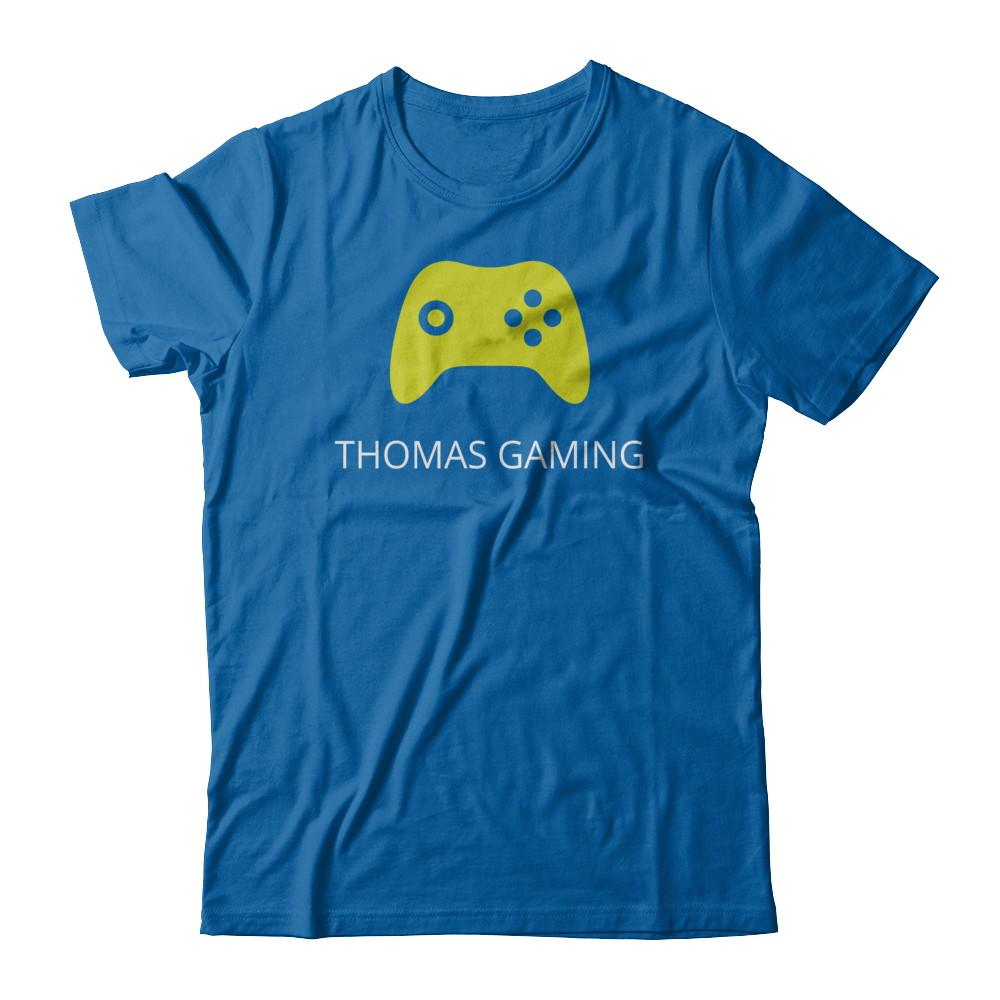 Thomas Gaming Short Sleeved Tee
