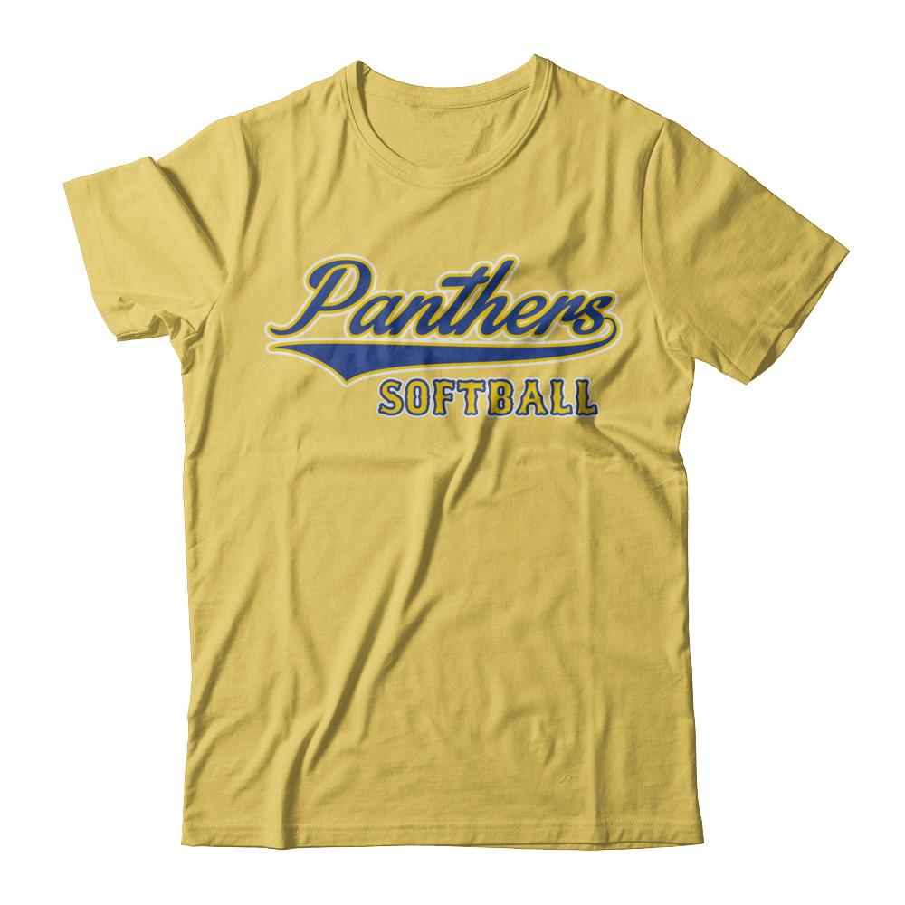 Panthers Softball Classic Diamond Back T