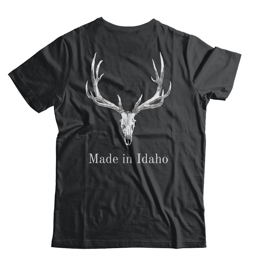"208 Outdoor Co. ""Made in Idaho"" Elk Skull"