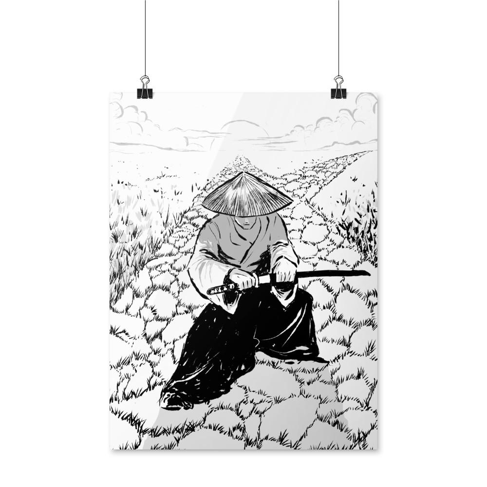 MGTOW Samurai Posters
