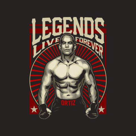 "Official Tito Ortiz ""Legends"" Tee"