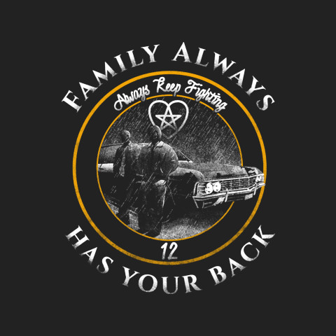 Jared 'Family Always Has Your Back' Tee
