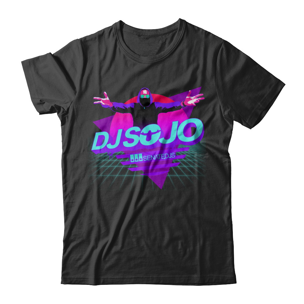 2020 DJ Sojo Retro Tee- Senate DJs