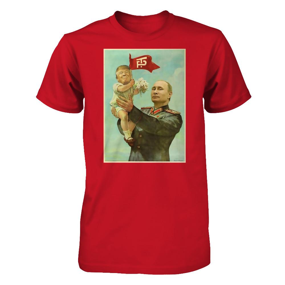 1db78e9ef Baby Trump with Putin t-shirt | Represent