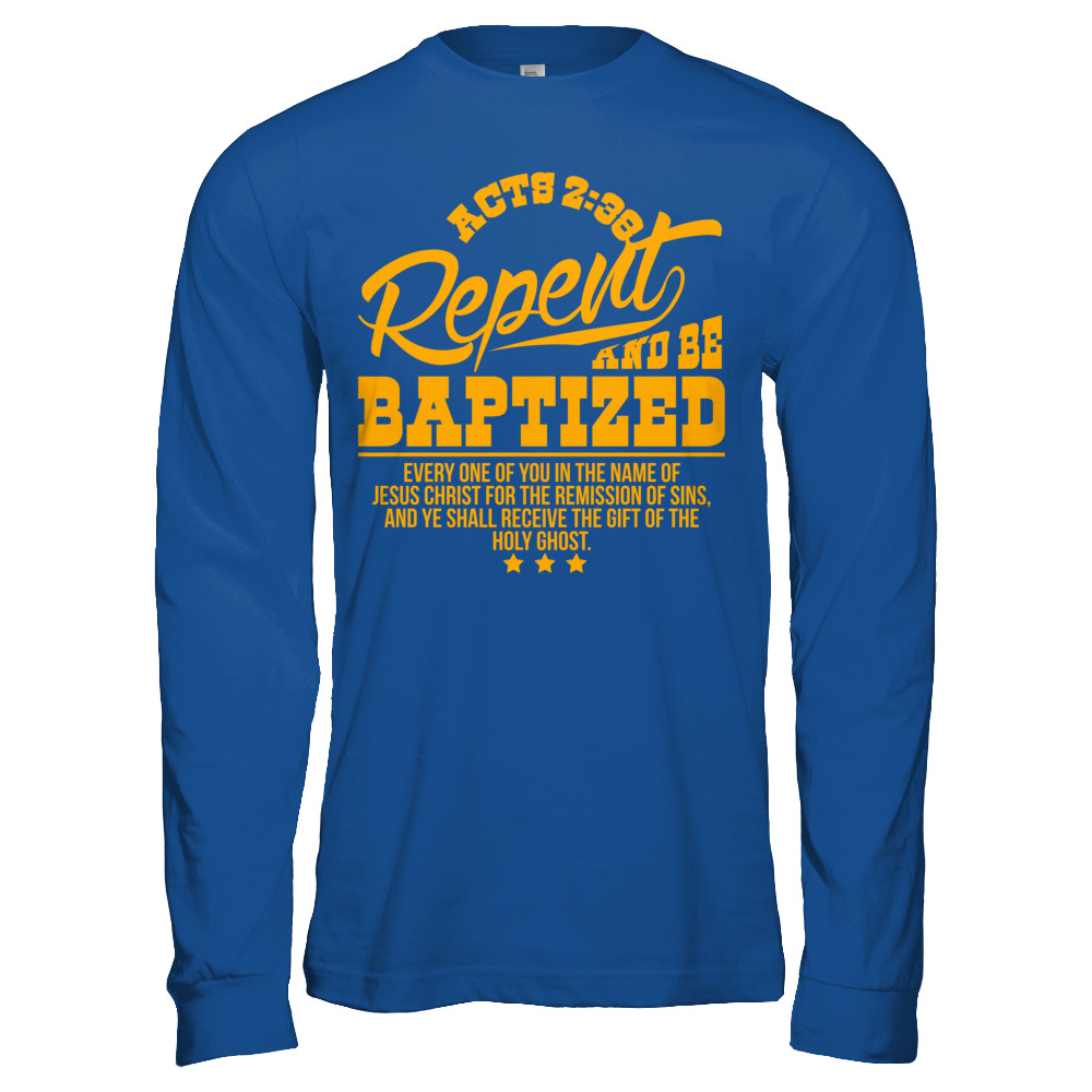 ACTS 2:38   Exclusive Design- All Styles