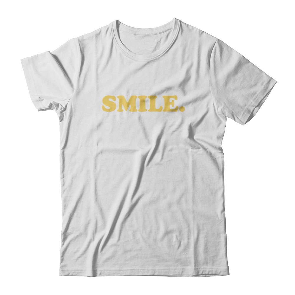 SMILE Unisex Fitted Tee