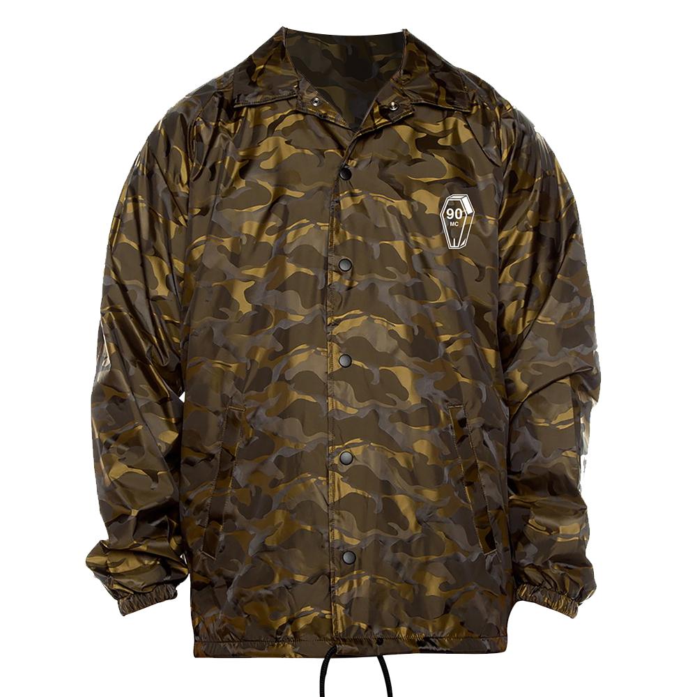 90 Mill Gold Camo Jacket // PewDiePie