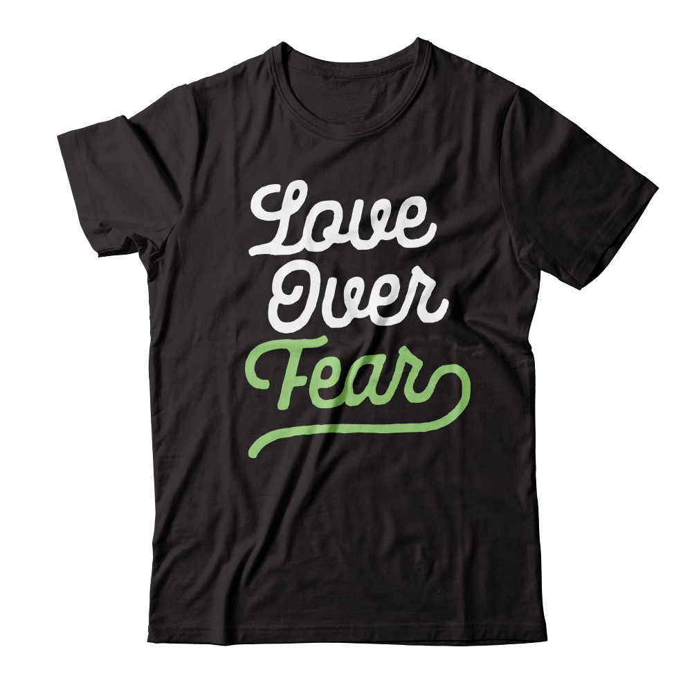 "Represent ""Love Over Fear"" Collection"