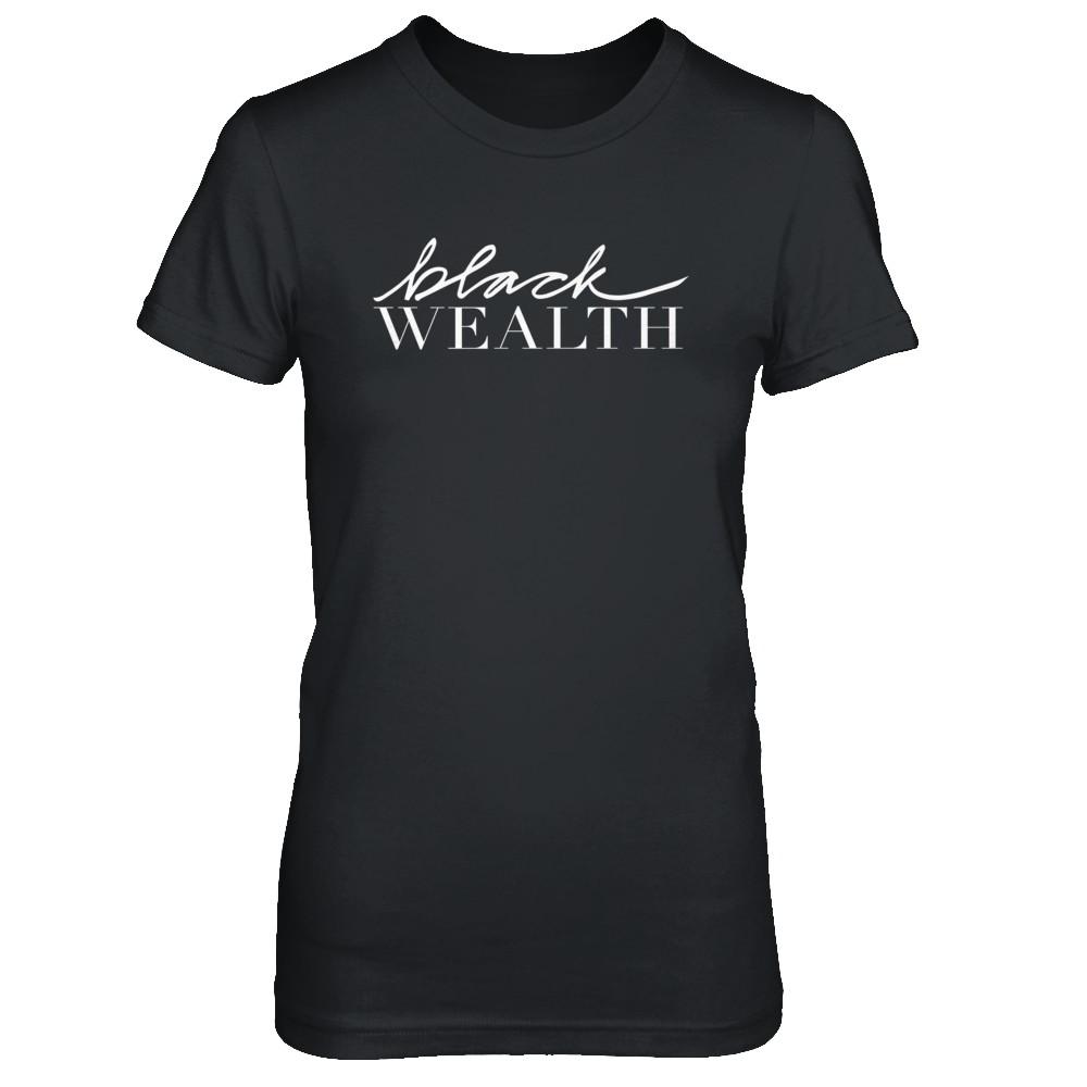 """Queen """"Black Wealth"""" white signature"""