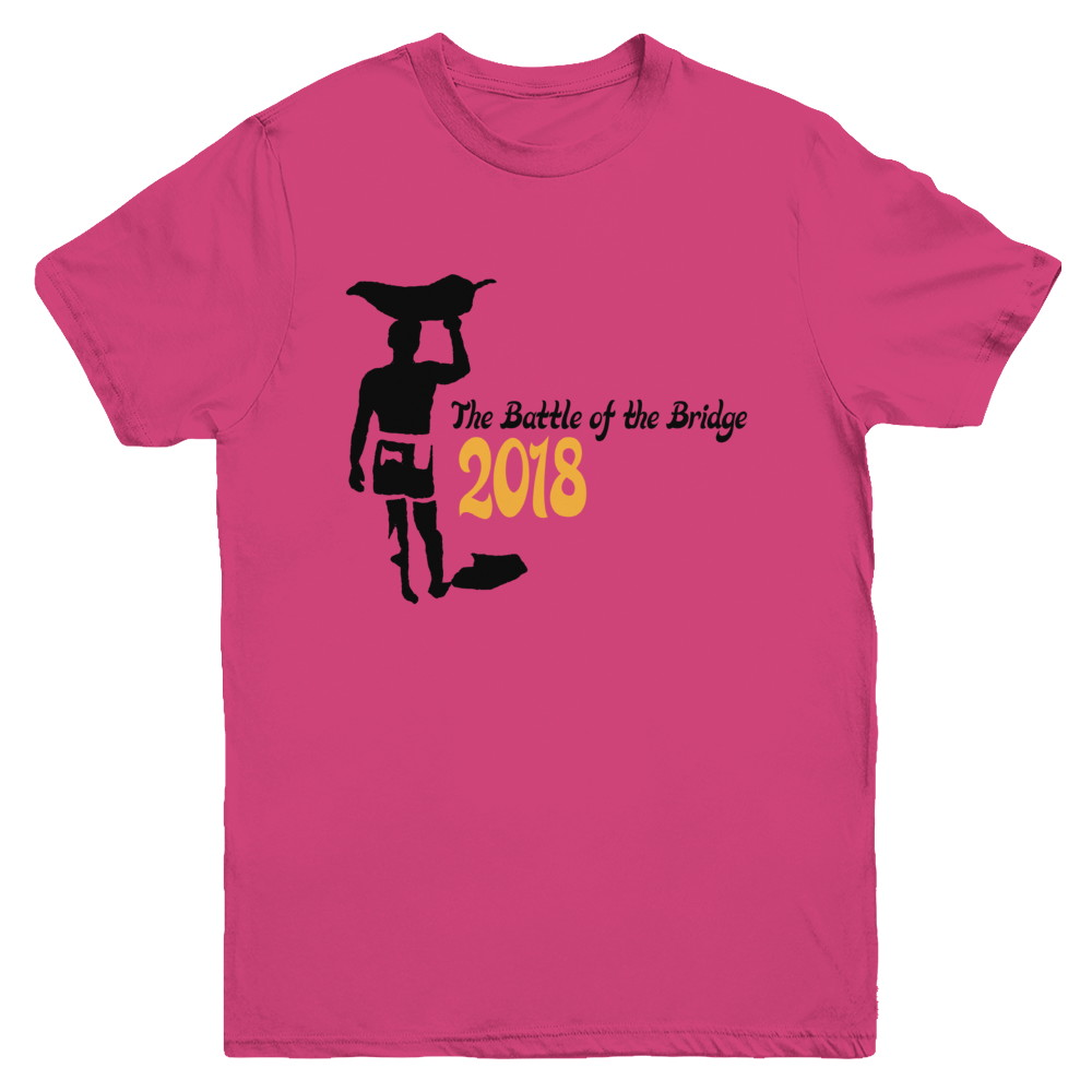 2018 Battle of the Bridge Youth Official Tee