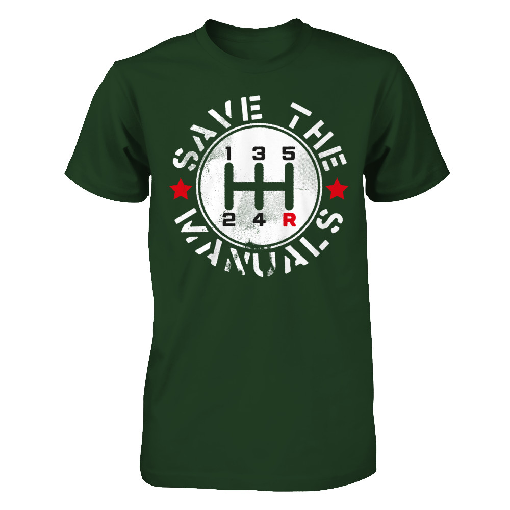 SAVE THE MANUALS T SHIRT