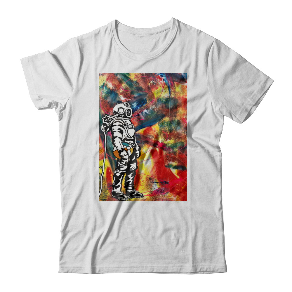 Abstract Diver Tour Tee
