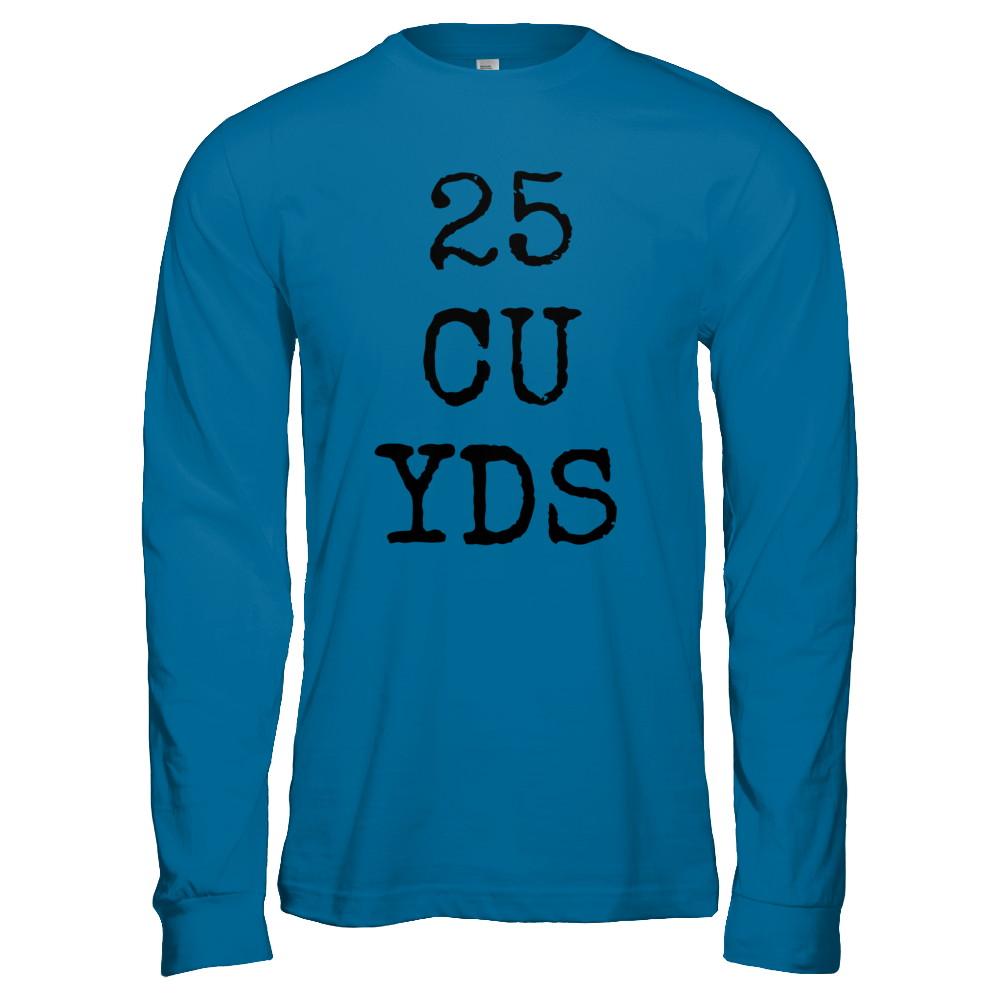 25 CU YDS