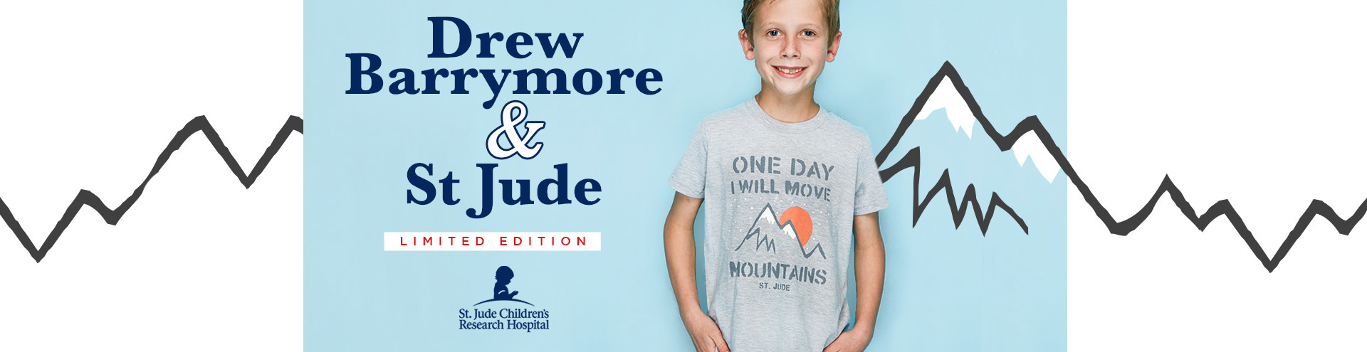 Drew Barrymore x St. Jude Children's Research Hospital Limited Edition Store Store