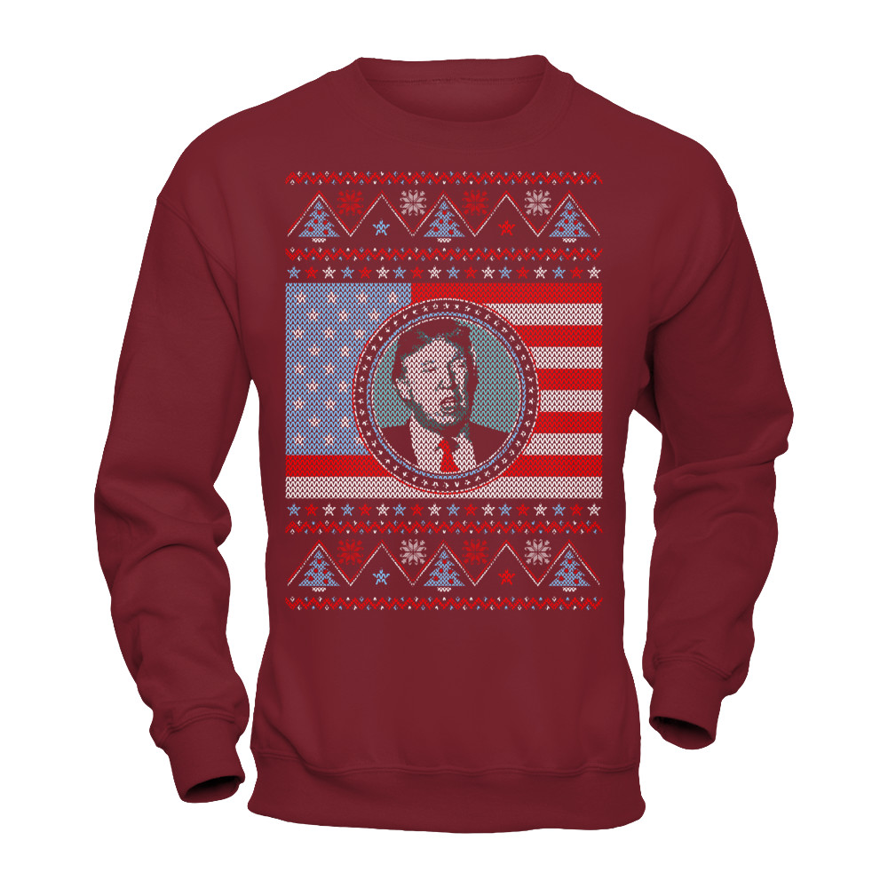 Trump Ugly Sweater- Make Christmas Great | Represent