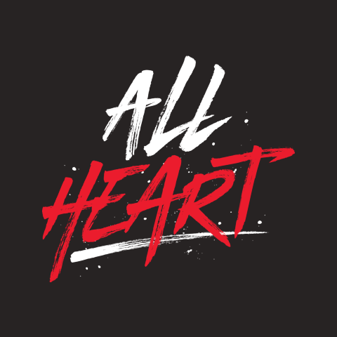 """Official Genevieve Morton """"All Heart"""" Tee"""