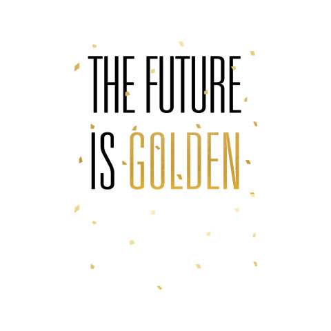 "Goldens Glee ""The Future Is Golden"" Shirt"