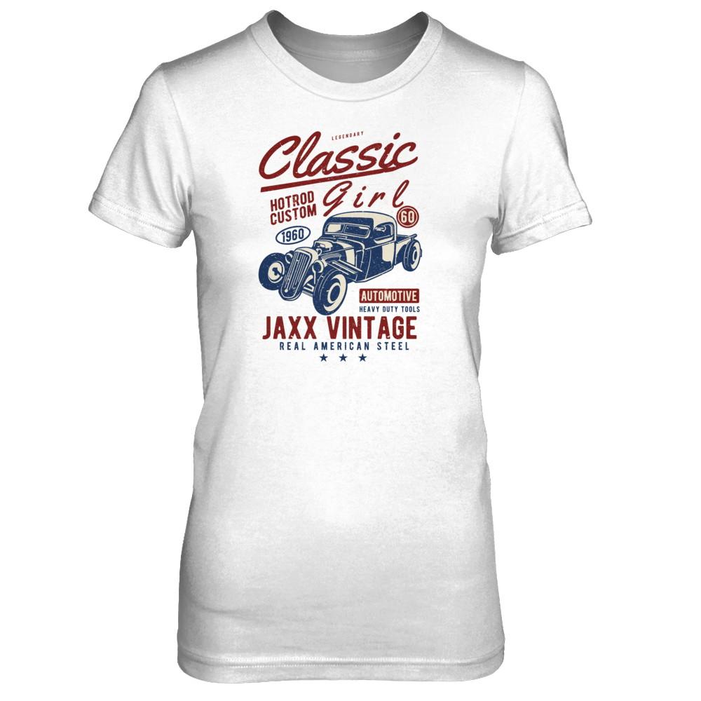 Women's - Classic Girl Vintage T-Shirt