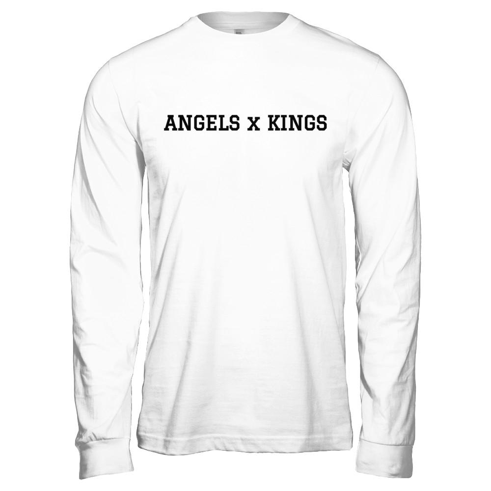 ANGELS x KINGS Varsity Long Sleeve
