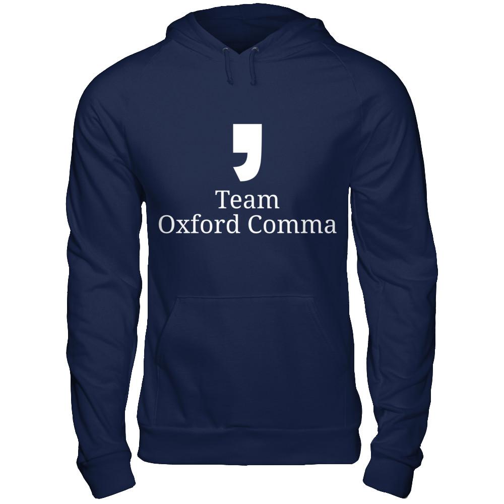 Team Oxford Comma Hoodie