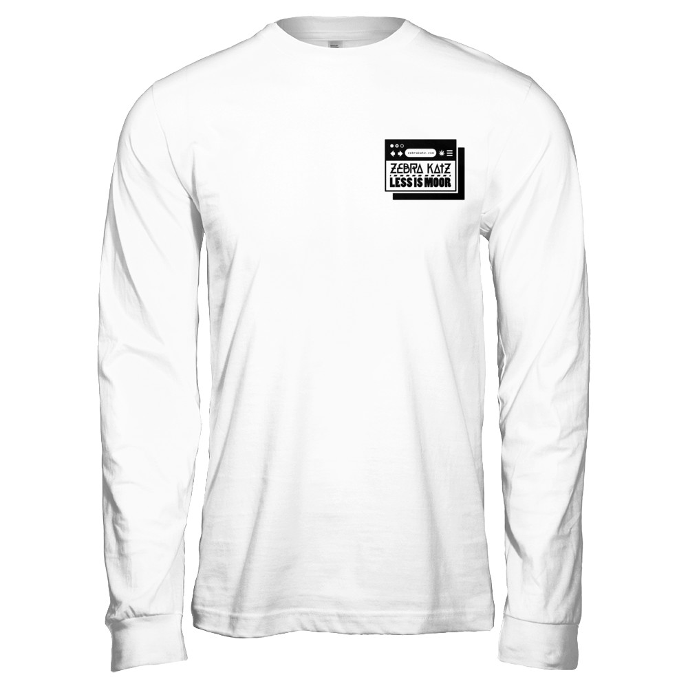 Official LESS IS MOOR Long Sleeve Tee