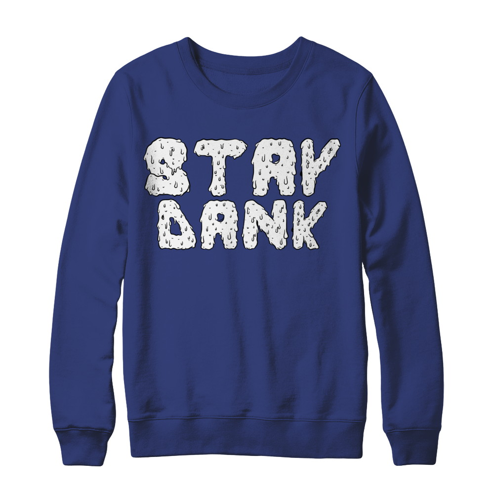 Stay Dank Grime - White